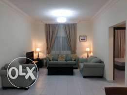 Fully furnished 2 bed - executive flat with Gym, pool & free utilities