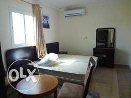 Fully-Furnished, Studio-type & 1/BR Apartment in [Al Wakrah]