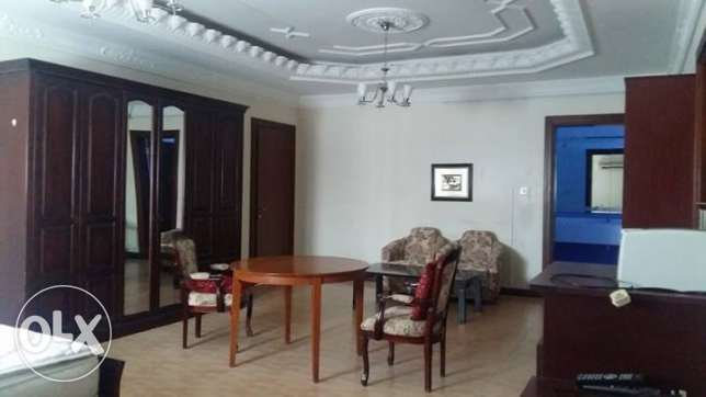 Fully Furnished Massive 1 Bedroom Villa Apartment With Pool In Dafna الدفنة -  1