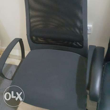 2 office chairs for sale