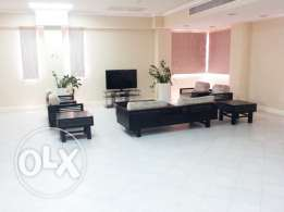 Semi-Furnished, 5-Bedroom Villa in {Abu Hamour}
