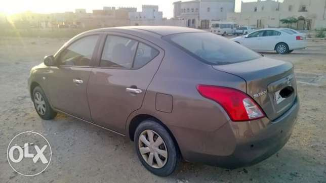 Nissan sunny 2013, 84000km, single use