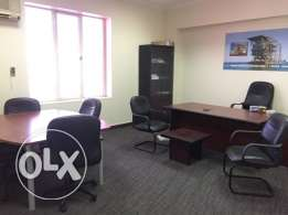 125 sqm 3 room partitioned office space for rent at C ring road