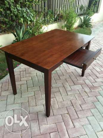 Study/computer table. Solid wood الريان -  3