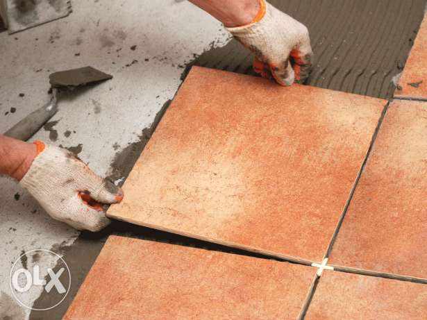 all tips of tiles works, painting,cleaning and building maintenance