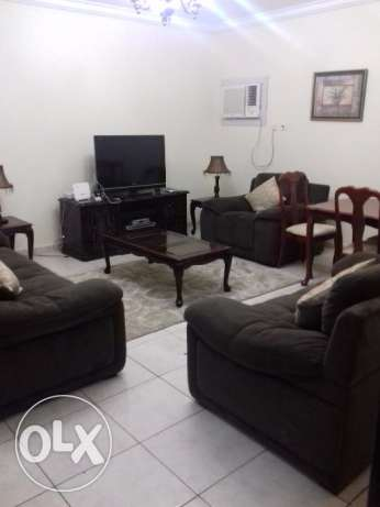 Well maintained fully furnished flat for rent at najma مطار الدوحة -  1