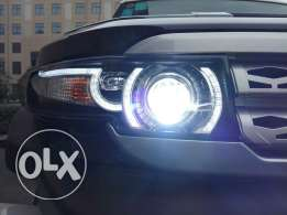 FJ Cruiser Headlights+Grill