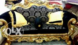 7 seater sofa set. With 3 center table with marbel. For sale .