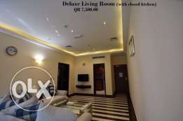 Luxury FF 5-Stars 1-BR Apartment in Musherib,Daily House Keeping