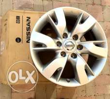 4 - Original Alloy Wheel Rims(Size 18) for Nissan Patrol 2013