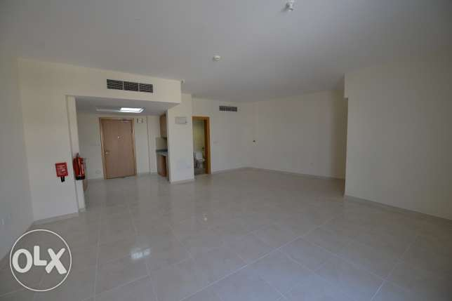 Hurry up .., Huge size brand new unfurnished studio in Lusail city