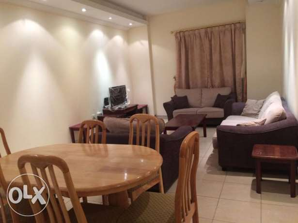 Fully/Furnished 3-Bedroom Apartment At {Al Sadd}