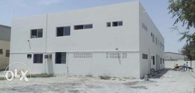 Huge 16 Rooms Labor Camp for rent in Ind.Area
