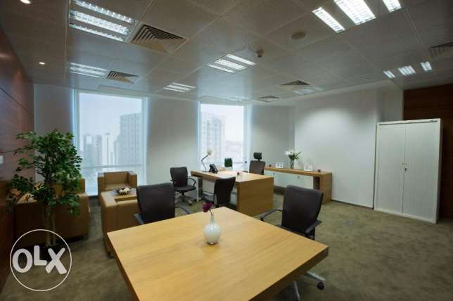 Luxurious work station ready to move in at Barwa Tower