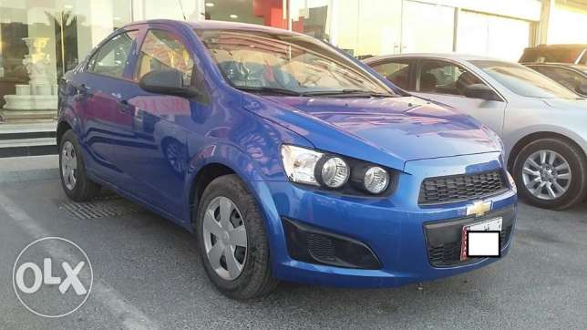 chevrolet sonic 2016 standred