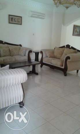 Fully furnished compound villa is for rent at Ain Khalid