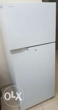 Toshiba double door REFRIGERATOR 495 LTR- 17.5 ft3 T495UBZ(W) الدوحة الجديدة -  1