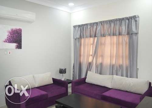 Short term rent 1BR fully furnished apartment at al-sakhama near IKEA