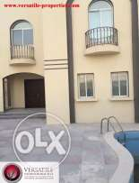 SF 6-BR Villa in AL Kheesa-Pool+1-Free Month For Bachelors-QR.13000