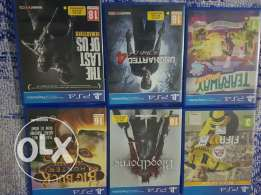 6 games for sale