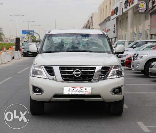 New Nissan Patrol LE V8 400HP Model 2017