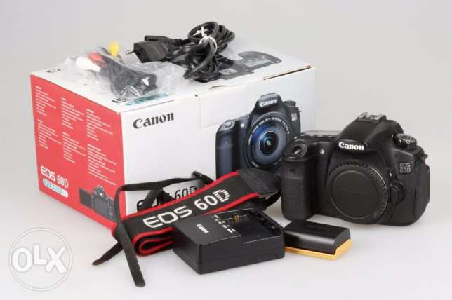 Canon EOS 60D 18.0MP Digital SLR Camera