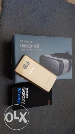 s7 edge + Gear vr purchased in jarrir