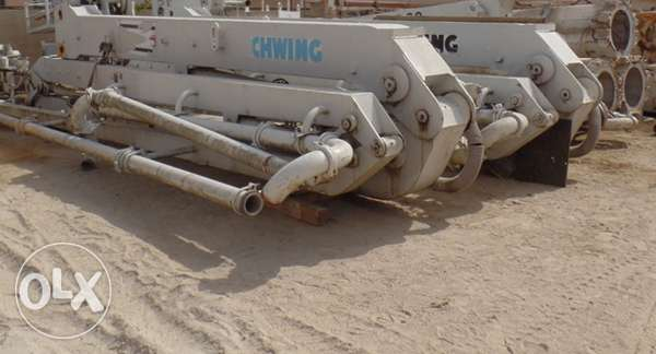 Used Schwing 39 m Placing boom
