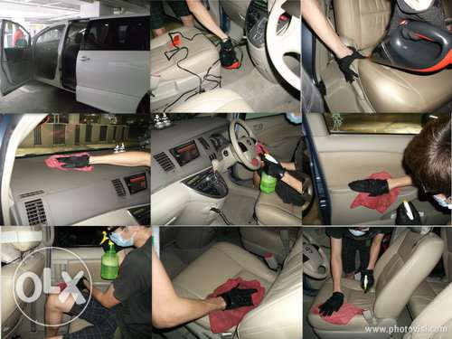 Best car interior cleaning service in qatar
