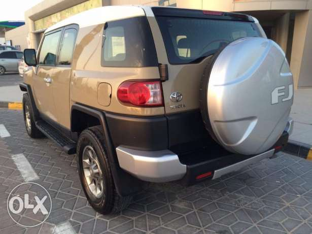2013 Fj cruiser in excellent condition single user
