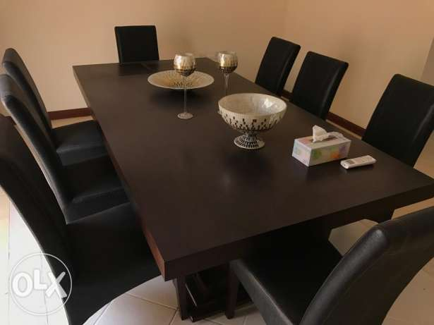 Dining Table (8 chairs)f