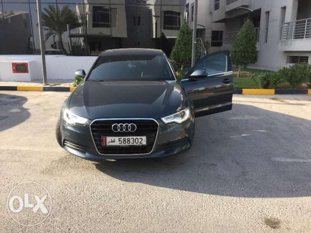Audi A6 for sale 2014 model الريان -  1