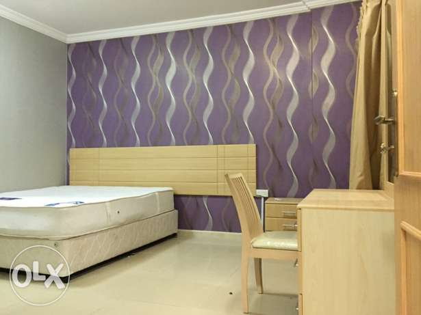 fully furnished 2 BHK in al nasr السد -  2