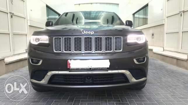 2014 Summit Jeep Grand cherokee