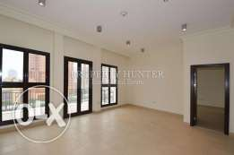 For Rent in Qanat Quartier Semi furnished 1 Bedroom home
