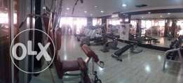 large 2 bedrooms S-Furnished Flat with gym