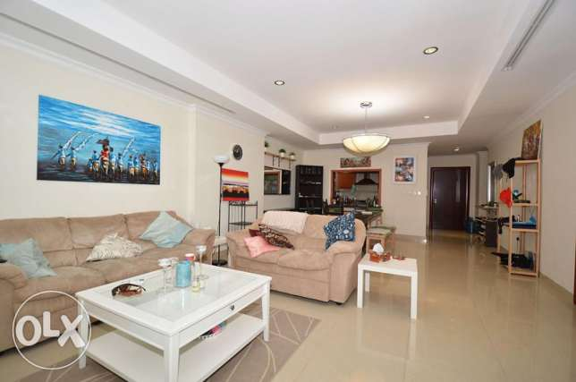 Furnished 1 Bed Home with Various Lovely Views الؤلؤة -قطر -  1