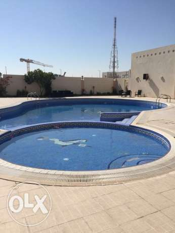 FF 3-BR Flat,Rent For 1 or 2 MONTHS,Gym,Pool, in AL Nasr,No Commission