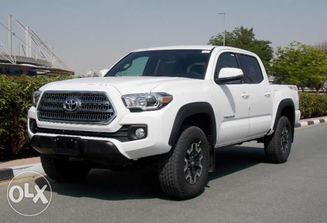 Toyota Tacoma Dbl Cab / short Bed 2017