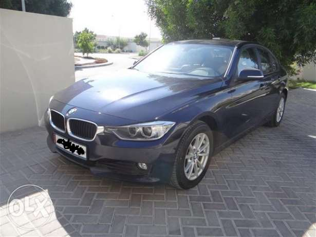 BMW 316I 2014 free international service for 5 years