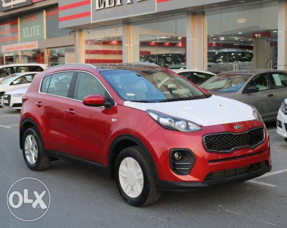 Sportage - red - 2017 - Brand New - without plate