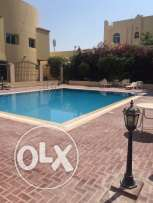 Unfurnished 3-BHK Villa in Old Airport,Maidsroom, pool,Gym