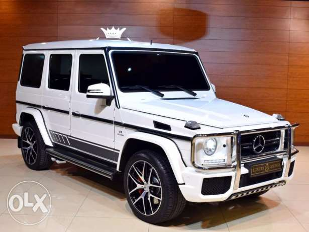 2016 Mercedes Benz G63 AMG 463Edition, GCC Specs, Under Warranty from