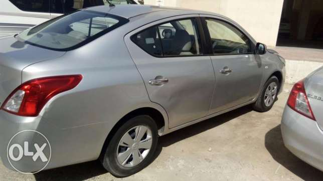 Nissan Sunny 2015/Silver/76000km for sale