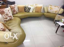 Leather Sofa 8 SEATER