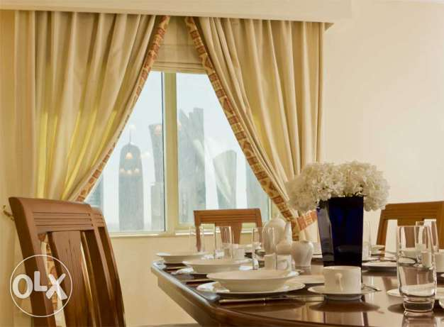 WBSER - Fully Furnished 2 Bedroom Suite Apartment at a Luxurious Tower