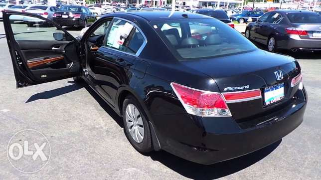Required Honda Accord 2011 or 2012 full leather