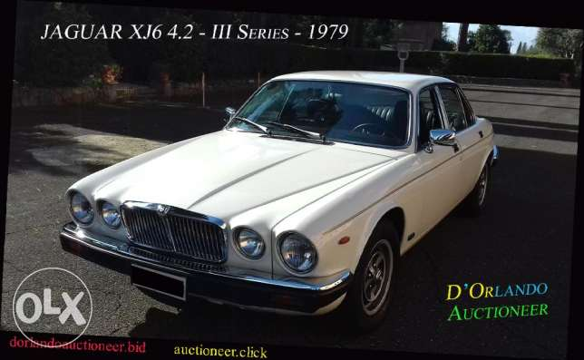 1979 - Jaguar XJ6 4.2 - Series 3