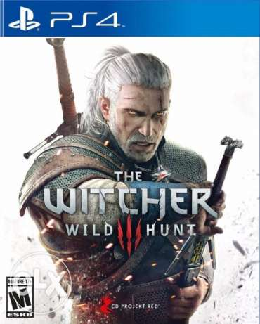 PS4 video game The Witcher 3 (used once)
