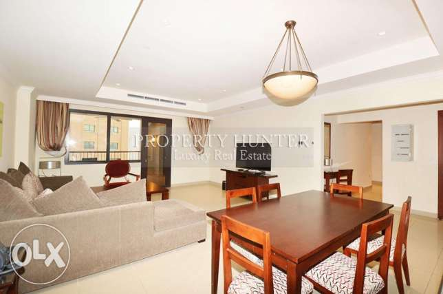Great Deal! Furnished 2 Bedrooms in Porto Arabia
